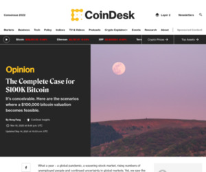 The Complete Case for $100K Bitcoin - CoinDesk