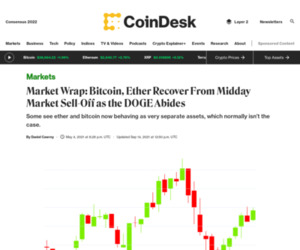 Market Wrap: Bitcoin, Ether Recover From Midday Market Sell-Off as the DOGE Abides - CoinDesk