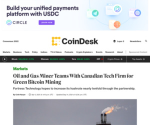 Fortress and Great American Mining Form 'Green' Bitcoin Mining Venture
