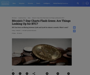 Bitcoin's 7-Day Charts Flash Green: Are Things Looking Up for BTC?   Finance Magnates