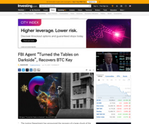 https://www.investing.com/news/cryptocurrency-news/fbi-agent-turned-the-tables-on-darkside-recovers-btc-key-2528851