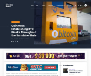 Coinme Is Establishing BTC Kiosks Throughout the Sunshine State | Live Bitcoin News