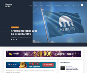 Kraken: October Will Be Great for BTC | Live Bitcoin News
