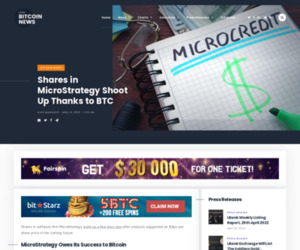 Shares in MicroStrategy Shoot Up Thanks to BTC | Live Bitcoin News