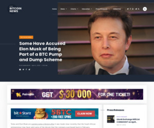 Some Have Accused Elon Musk of Being Part of a BTC Pump and Dump Scheme | Live Bitcoin News