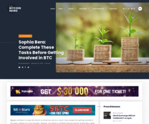 Sophia Bera: Complete These Tasks Before Getting Involved in BTC   Live Bitcoin News