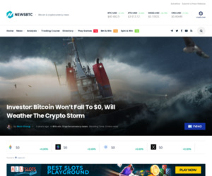 Investor: Bitcoin Won't Fall To $0, Will Weather The Crypto Storm | NewsBTC