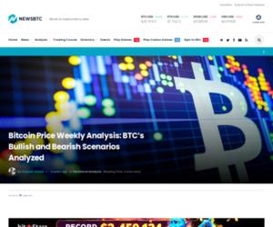 Bitcoin Price Weekly Analysis: BTC's Bullish and Bearish Scenarios Analyzed | NewsBTC