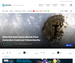 Historical Data Shows Bitcoin Price Correction Could Last 5 More Months | NewsBTC