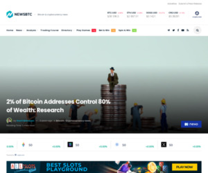 2% of Bitcoin Addresses Control 80% of Wealth: Research | NewsBTC