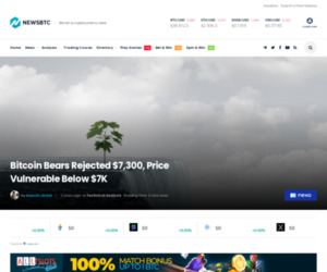 Bitcoin Bears Rejected $7,300, Price Vulnerable Below $7K | NewsBTC