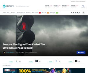Beware: The Signal That Called The 2019 Bitcoin Peak Is Back
