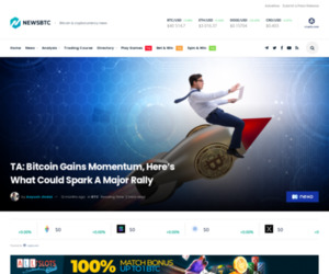 TA: Bitcoin Gains Momentum, Here's What Could Spark A Major Rally