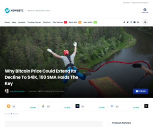 Why Bitcoin Price Could Extend Its Decline To $41K, 100 SMA Holds The Key
