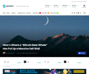 """Here's Where a """"Bitcoin Bear Whale"""" Has Put Up a Massive Sell Wall"""