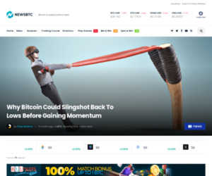 Why Bitcoin Could Slingshot Back To Lows Before Gaining Momentum