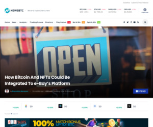 How Bitcoin And NFTs Could Be Integrated To eBay's Platform