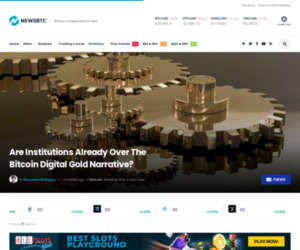 Are Institutions Over The Bitcoin Digital Gold Narrative?