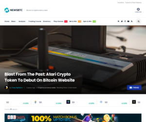 Blast From The Past: Atari Crypto Token To Debut On Bitcoin Website