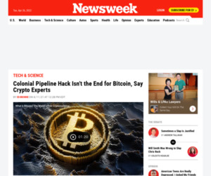 Colonial Pipeline Hack Isn't the End for Bitcoin, Say Crypto Experts