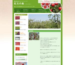 『青森のりんご紅玉を産地直送 紅玉の森』