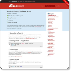 http://guides.rubyonrails.org/4_0_release_notes.html