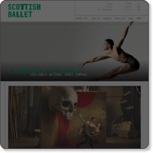スコティッシュバレエ団 Scottish Ballet