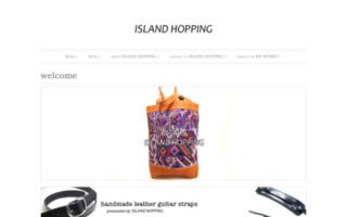 ISLAND HOPPING — 世界の布と本革を使用した手作り革小物