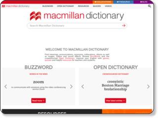 http://www.macmillandictionary.com/