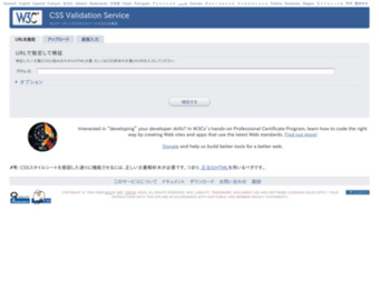 http://jigsaw.w3.org/css-validator/