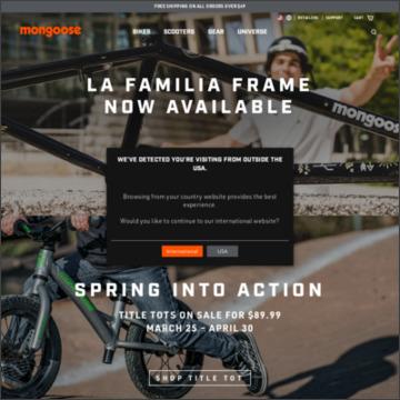 マングースオフィシャルホームページ