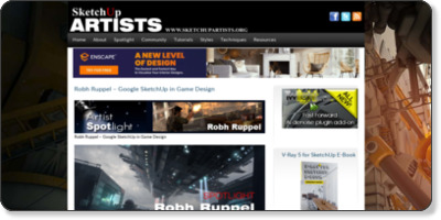 http://www.sketchupartists.org/spotlight/artists/robh-ruppel-google-sketchup-in-game-design/