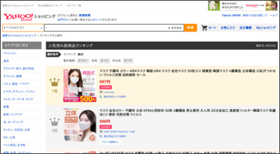 http://shopping.yahoo.co.jp/ranking/