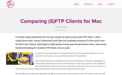 Comparing (S)FTP Clients for Mac | Blog | Desto Media