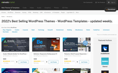 http://themeforest.net/popular_item/by_category?category=wordpress