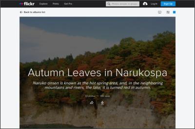 http://www.flickr.com/photos/narukospa/sets/72157622484229127/