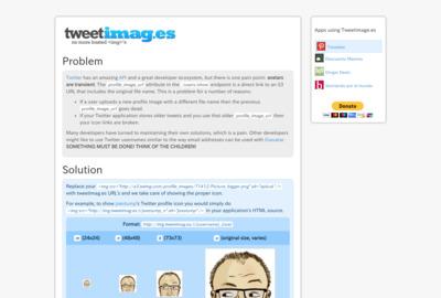 Twitter Imagesのスクリーンショット
