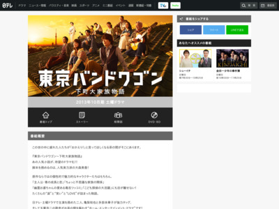 http://www.ntv.co.jp/bandwagon/index.html