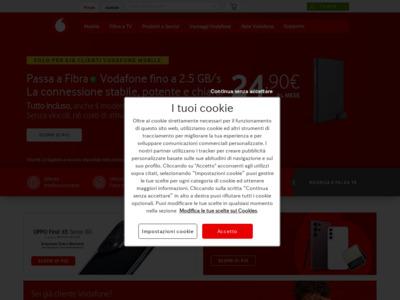Smartphone, telefoni cellulari, telefonia mobile e ADSL - Vodafone