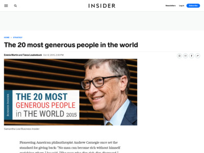 http://www.businessinsider.com/most-generous-people-in-the-world-2015-10