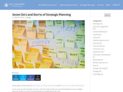 http://markarnold.com/2015/10/seven-dos-and-donts-of-strategic-planning/