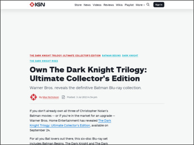 http://www.ign.com/articles/2013/07/03/own-the-dark-knight-trilogy-ultimate-collectors-edition