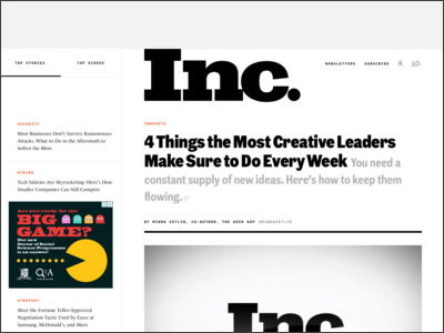 http://www.inc.com/minda-zetlin/4-weekly-habits-of-highly-creative-leaders.html