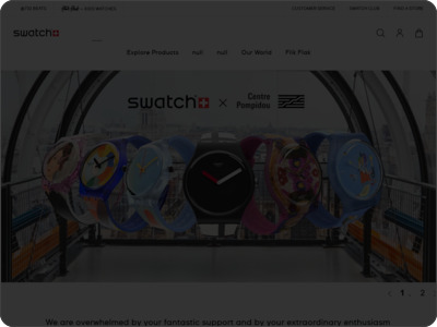 Swatch e-store(すうぉっちいーすとあ)