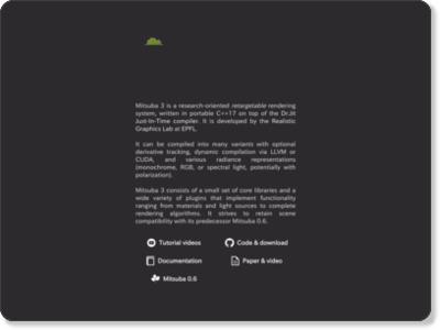 http://www.mitsuba-renderer.org/