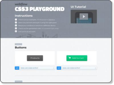 http://playground.webflow.com/