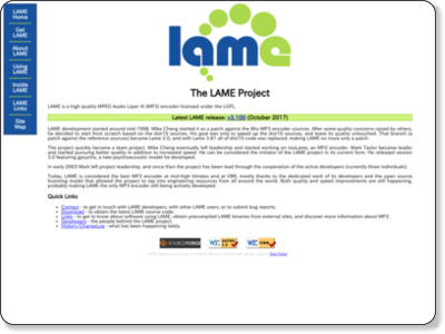 http://lame.sourceforge.net/