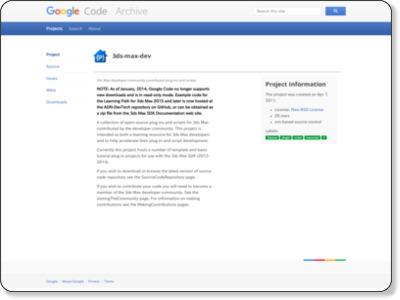 http://code.google.com/p/3ds-max-dev/