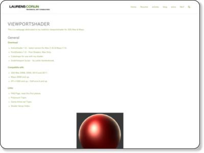 http://www.laurenscorijn.com/viewportshader
