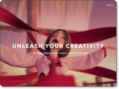 http://www.marvelousdesigner.com/